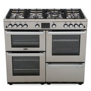 Belling Cookcentre 100G Professional Stainless Steel 100cm Gas Range Cooker