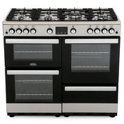 Belling Cookcentre 100G Stainless Steel 100cm Gas Range Cooker