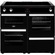Belling Cookcentre 100Ei Black 100cm Electric Induction Range Cooker