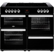 Belling Cookcentre 110E Black 110cm Electric Ceramic Range Cooker