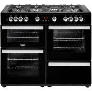 Belling Cookcentre 110G Black 110cm Gas Range Cooker
