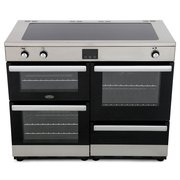 Belling Cookcentre 110Ei Stainless Steel 110cm Electric Induction Range Cooker