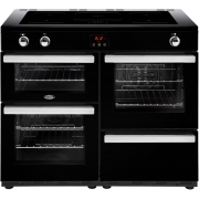 Belling Cookcentre 110Ei Black 110cm Electric Induction Range Cooker