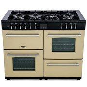 Belling Farmhouse 110DF Cream 110cm Dual Fuel Range Cooker