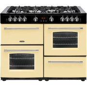 Belling Farmhouse 110G Cream 110cm Gas Range Cooker