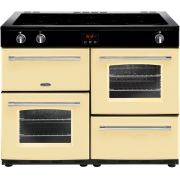 Belling Farmhouse 110Ei Cream 110cm Electric Induction Range Cooker