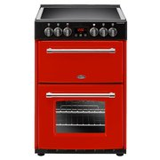 Belling Farmhouse 60E Jalapeno Ceramic Electric Cooker with Double Oven