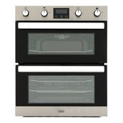 Belling BI702FPCT Stainless Steel Built-Under Electric Double Oven