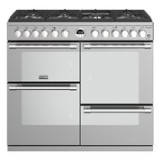 Stoves Sterling Deluxe S1000DF Stainless Steel 100cm Dual Fuel Range Cooker