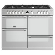 Stoves Sterling Deluxe S1100G Stainless Steel 110cm Gas Range Cooker