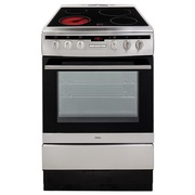 Amica 608CE2TAXX Electric Cooker with Single Oven