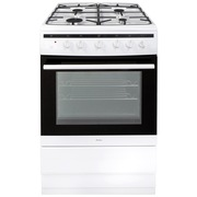 Amica 608GG5MSW Gas Cooker with Single Oven