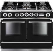 Falcon 1092 Continental Black Chrome 110cm Dual Fuel Range Cooker