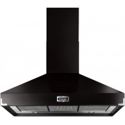 Falcon Super Extract Black Brass 110cm Chimney Cooker Hood