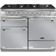 Rangemaster ELS110DFFSS Elise Stainless Steel with Brushed Chrome Trim 110cm Dual Fuel Range Cooker