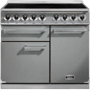 Falcon 1000 Deluxe Stainless Steel Chrome 100cm Electric Induction Range Cooker