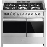 Smeg Opera A2PY-81 Stainless Steel 100cm Dual Fuel Range Cooker