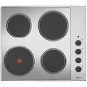 Amica AHE6000SS Solid Plate Hob