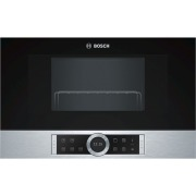 Bosch Serie 8 BEL634GS1B Built-In Microwave with Grill