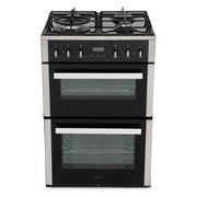 CDA CFG610SS Gas Cooker with Double Oven