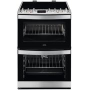 AEG CIB6732ACM Electric Cooker with Double Oven