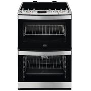 AEG CIB6733ACM Electric Cooker with Double Oven