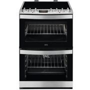 AEG CIB6742ACM Electric Cooker with Double Oven
