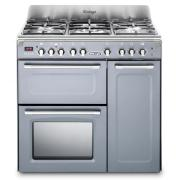 DeLonghi D3VR 908-DF/SLATE 90cm Dual Fuel Range Cooker
