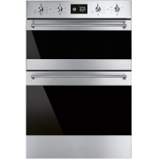 Smeg Classic DOSF6390X Double Built In Electric Oven