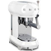 Smeg ECF01WHUK Retro Espresso Coffee Machine