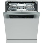 Miele G7310 SCi AutoDos CleanSteel Built In Semi Integrated Dishwasher