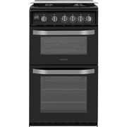 Hotpoint HD5G00CCBK/UK Gas Cooker with Double Oven