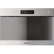 Hotpoint MN 314 IX H Built In Microwave with Grill