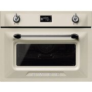 Smeg Victoria SF4920MCP1 Built In Combination Microwave