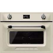 Smeg Victoria SF4920VCP1 Built In Combination Microwave
