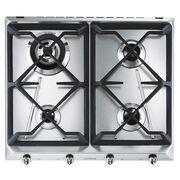 Smeg Cucina SRV564GH3 4 Burner Gas Hob