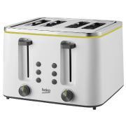 Beko TAM4341W 4 Slice Toaster
