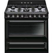 Smeg Victoria TR90BL9 90cm Dual Fuel Range Cooker