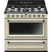 Smeg Victoria TR90P9 90cm Dual Fuel Range Cooker