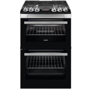 Zanussi ZCG43250XA Gas Cooker with Double Oven