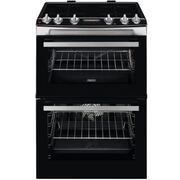 Zanussi ZCI66288XA Induction Electric Cooker with Double Oven