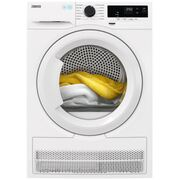 Zanussi ZDH87A2PW Condenser Dryer with Heat Pump Technology