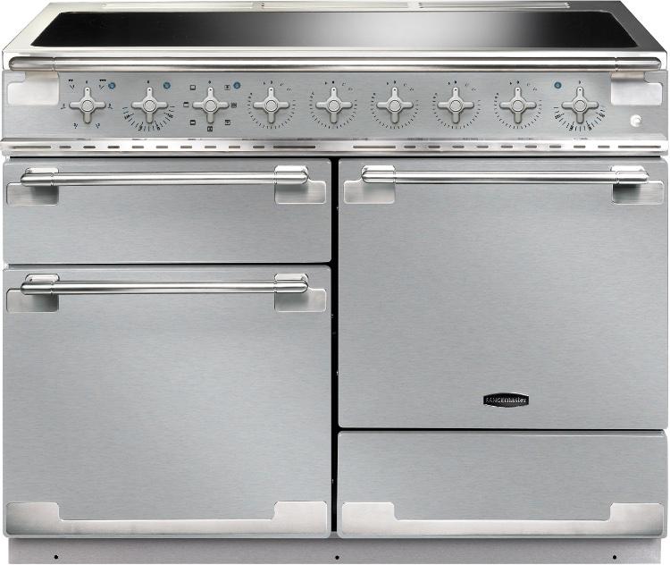 Rangemaster ELS110EISS Elise Stainless Steel 110cm Electric Induction Range Cooker