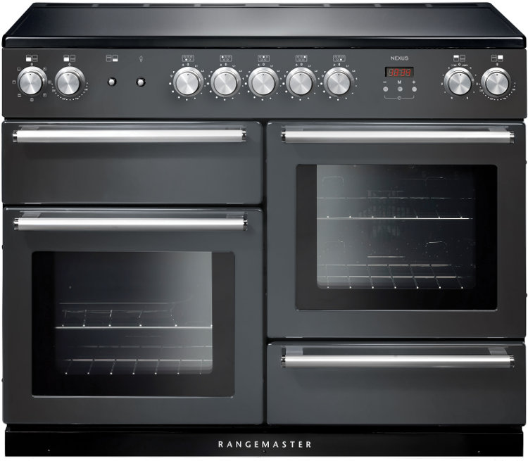 Rangemaster NEX110EISL/C Nexus 110 Induction Slate 110cm Electric Induction Range Cooker