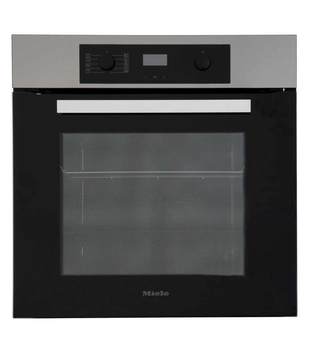 Miele ContourLine H2265-1B CleanSteel Single Built In Electric Oven