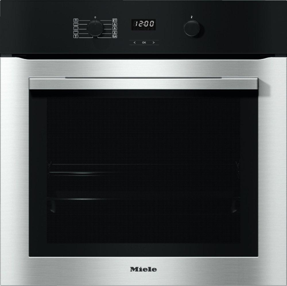 Miele ContourLine H2760BP CleanSteel Single Built In Electric Oven