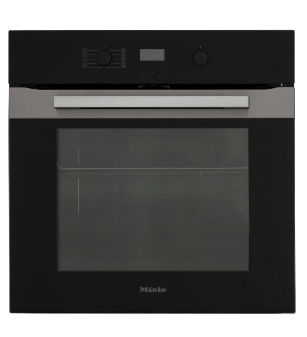 Miele PureLine H2860BP CleanSteel Single Built In Electric Oven