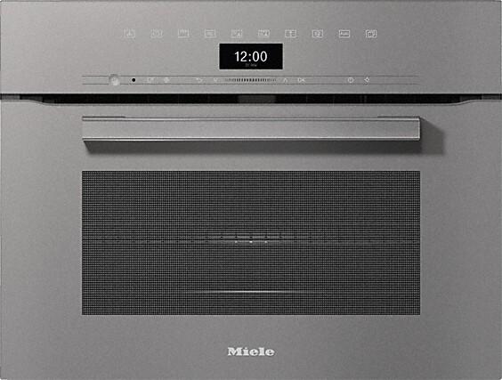 Miele H7440BM VitroLine Graphite Grey Built In Combination Microwave