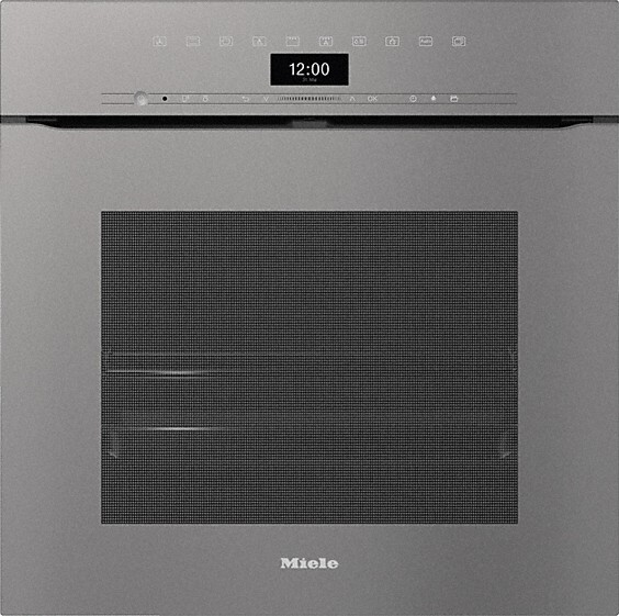 Miele H7464BPX ArtLine Graphite Grey Single Built In Electric Oven