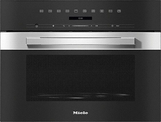 Miele PureLine M7240TC CleanSteel Built In Microwave